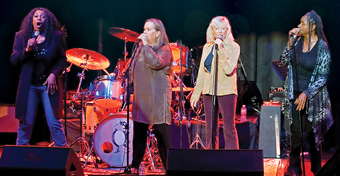 The Blues Broads: Tracy Nelson, Dorothy Morrison, Annie Sampson, Angela Strehli & Deanna Bogart